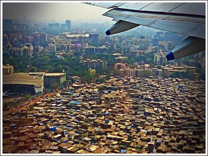 The Slums of Mumbai