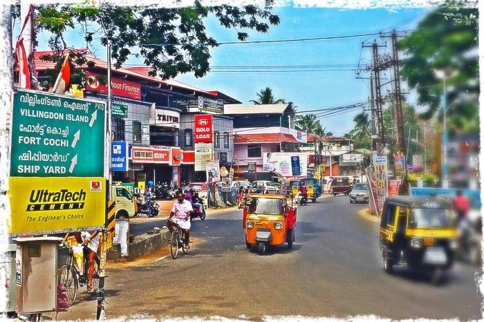 Road to Fort Cochin