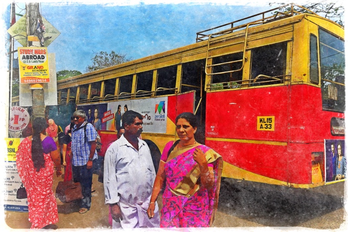 Indian Local Bus
